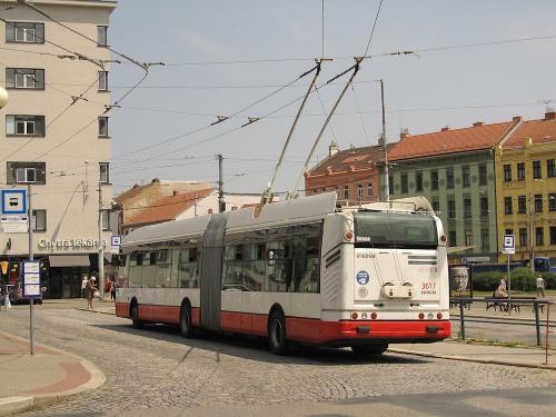 Janusz Jakubowski Škoda 25Tr Irisbus, #3617, DP Brno