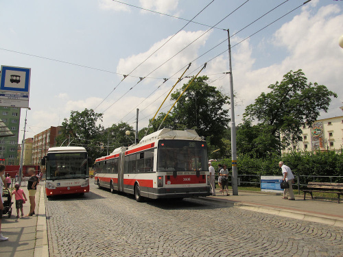 Škoda 22Tr, #3608, DP Brno