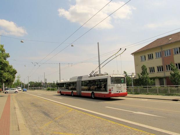 Škoda 31Tr SOR, #3633, DP Brno