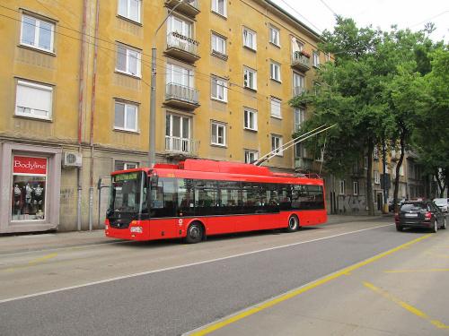 Škoda 30Tr SOR, #6011, DP Bratislava