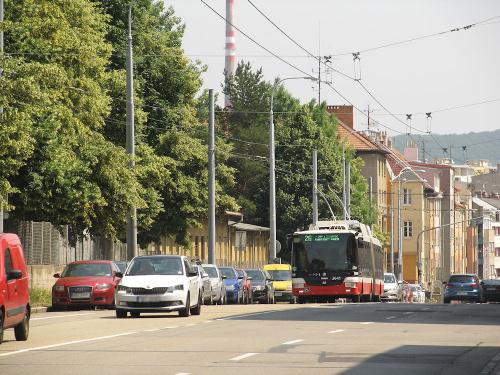 Škoda 31Tr SOR, #3641, DP Brno