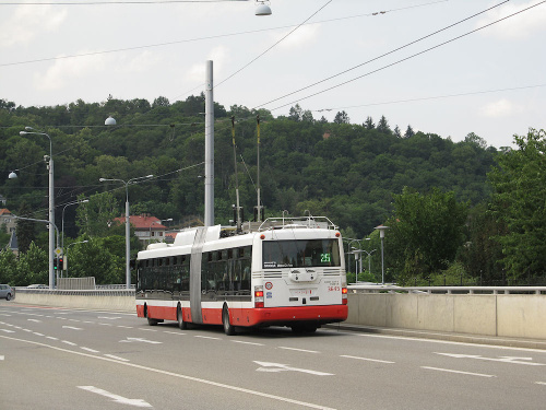Škoda 31Tr SOR, #3645, DP Brno