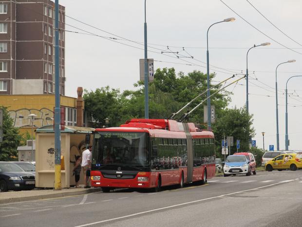 Škoda 31Tr SOR, #6828, DP Bratislava