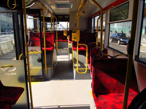 SU18 IV CNG, #9906, Arriva Bus Transport Warszawa