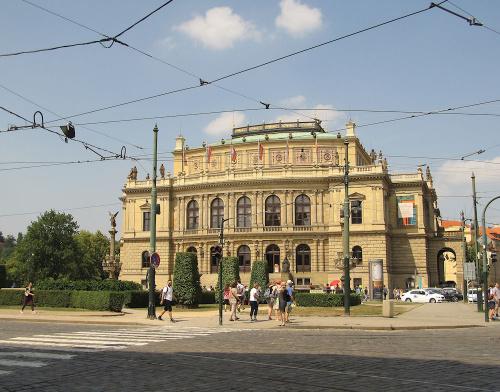 Praha. Rudolfinum
