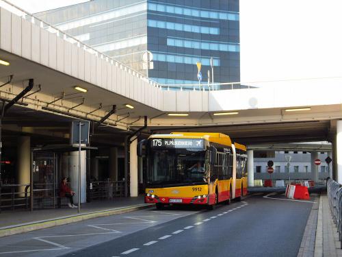 SU18 IV CNG, #9912, Arriva Bus Transport Warszawa