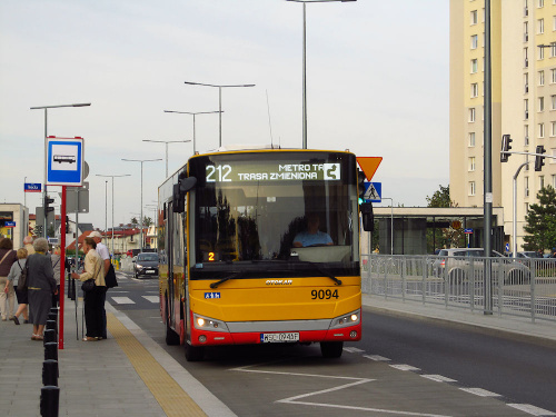 Otokar Vectio C, #9094, Arriva Bus Transport Warszawa