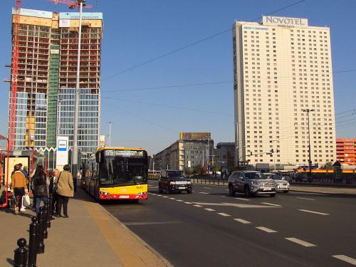 SU18 IV CNG, #9917, Arriva Bus Transport Warszawa