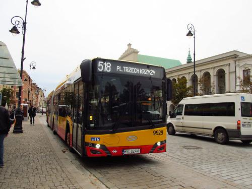 SU18 IV CNG, #9929, Arriva Bus Transport Warszawa