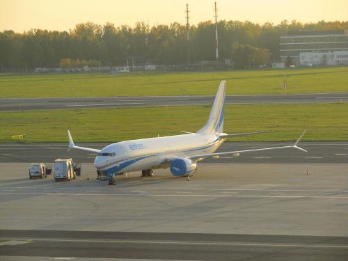 Boeing 737-8 MAX, SP-EXB, Enter Air