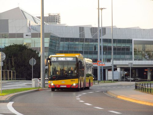 SU18 IV CNG , #9917, Arriva Bus Transport Warszawa