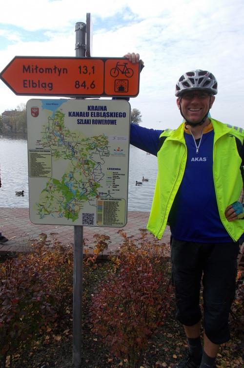 Ostróda-koniec szlaku Kanału Elbląskiego