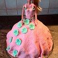 Różowa lala #Lala #tort #lalka #tort #torty #okolicznościowe