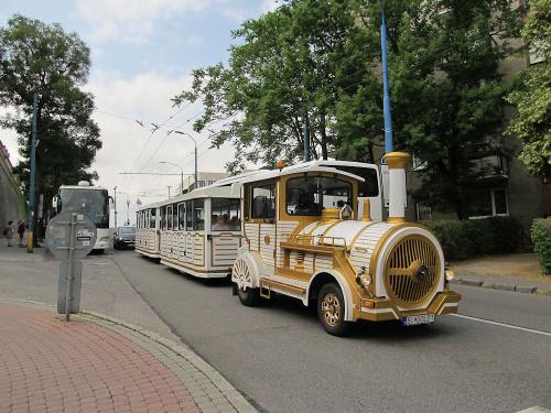 Pojazd turystyczny w Bratysławie