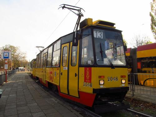 Konstal 105N2k, #2048, Tramwaje Warszawskie