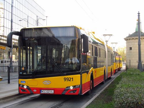 SU18 IV CNG , #9921, Arriva Bus Transport Warszawa