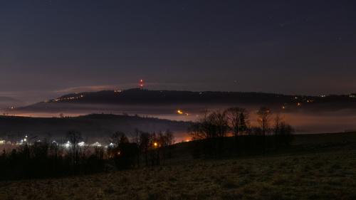 Nocne mgły pod Gubałówką