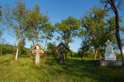 Barsana - cmentarz przy kościele