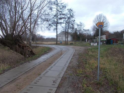 Nowe płyty między Tujskiem a Rybiną na międzynarodowych szlakach EV 10 i EV 13
