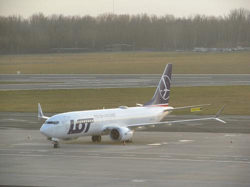 Boeing 737-8 MAX, SP-LVF, PLL LOT