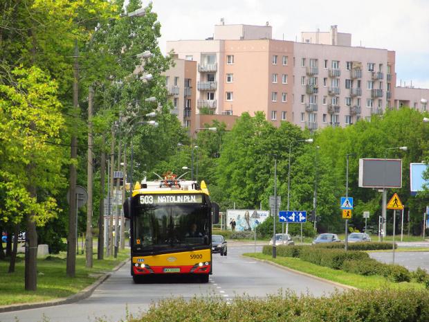 SU18Electric, #5900, MZA Warszawa