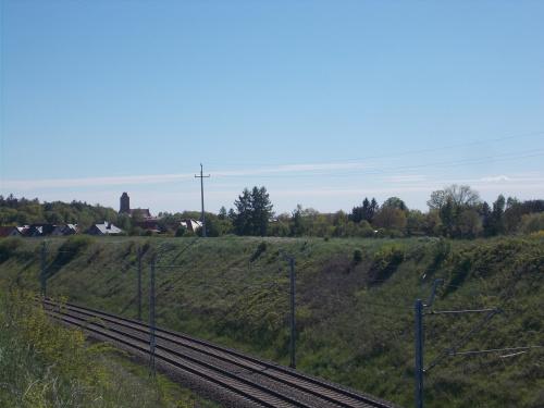 Dobre miejsce na zdjęcia pociągów