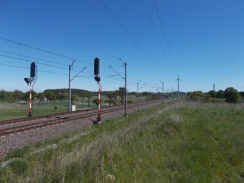 Prabuty-linia kolejowa Gdynia-Warszawa