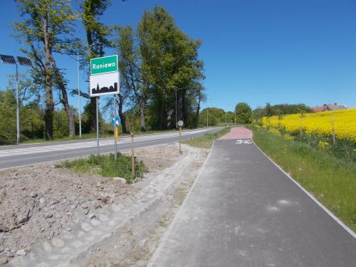 Droga rowerowa Kwidzyn-Prabuty