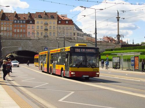 MAN NG313, #3376, MZA Warszawa