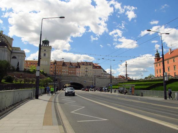 Warszawa - Śródmieście, tunel trasy W-Z