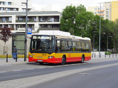 """Scania Citywide LF CNG, #9679, """"Michalczewski"""" sp. o.o / Oddz. Warszawa"""