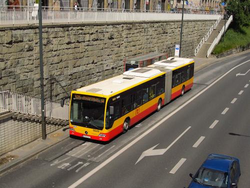 "Mercedes Conecto LF G, #9849, ""Mobilis Group"" Oddz. W-wa"