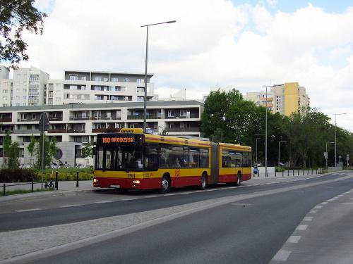 MAN NG313, #3911, MZA Warszawa