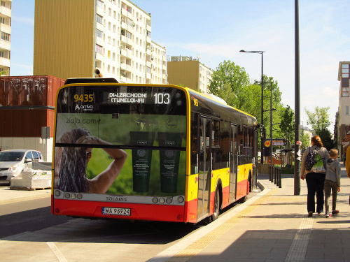 SU18 III, #9435, Arriva Bus Transport Warszawa