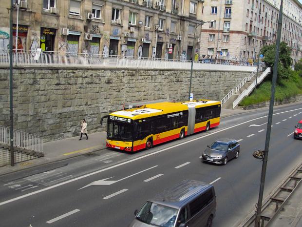 SU18 IV CNG , #9944, Arriva Bus Transport Warszawa