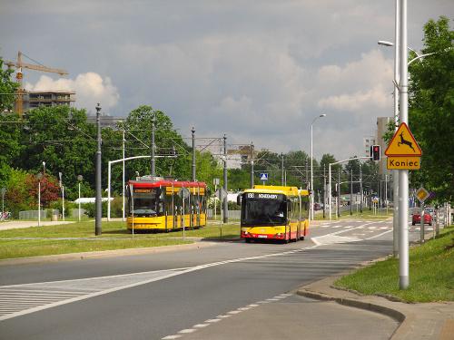 SU18 IV CNG , #9905, Arriva Bus Transport Warszawa