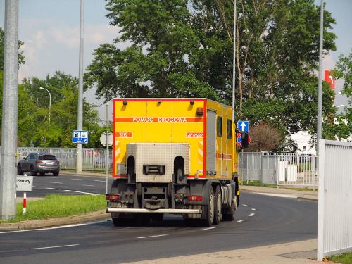 Volvo FM 410 6x4 III, #302, MZA Warszawa