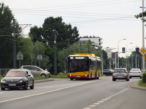 SU18 IV CNG , #9916, Arriva Bus Transport Warszawa