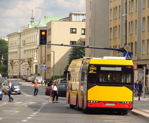 SU18 Electric, #5965, MZA Warszawa
