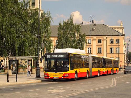 MAN NG313 CNG Lion's City G, #7220, MZA Warszawa