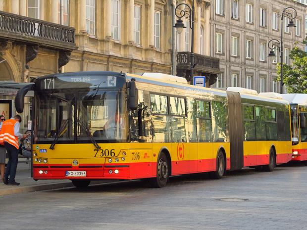 Solbus Solcity SM18LNG, #7306, MZA Warszawa