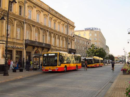 Mercedes Conecto LF, #4417, MZA Warszawa