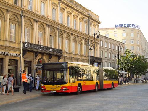 MAN NG363 Lion's City G, #3409, MZA Warszawa
