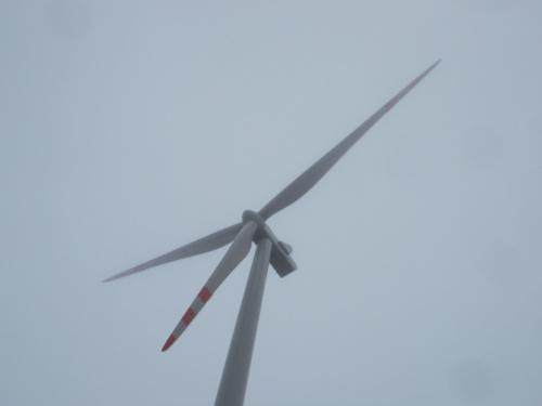 """Jeden z planowanych 29 wiatraków farmy ,,Pomerania"""""""