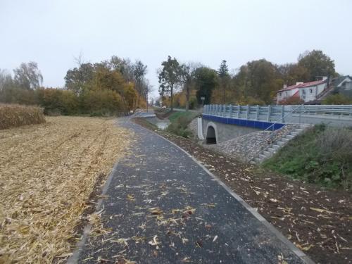 W Krzyżanowie pojawiła się nowa droga rowerowa ...