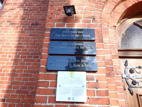 Pasłęk-kiedyś kościół, potem kaplica a teraz cerkiew
