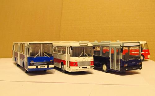Ikarusy 260, 556 & 415