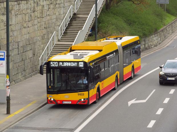 SU18 IV CNG , #9933, Arriva Bus Transport Warszawa