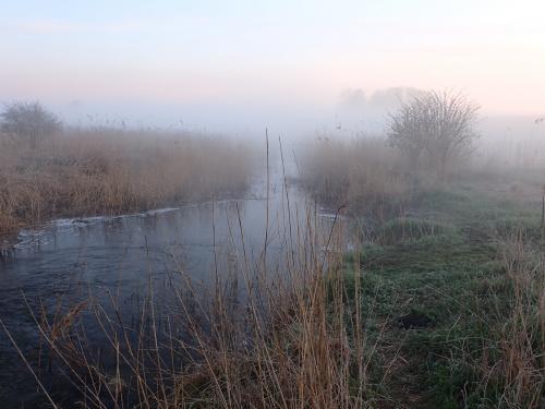 Silice-mgły nad Kanałem Wiktorii