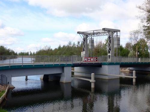 Tujsk-nowy most zwodzony na Tudze